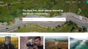 Pexels - Free video and image site