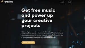 PremiumBeat free music