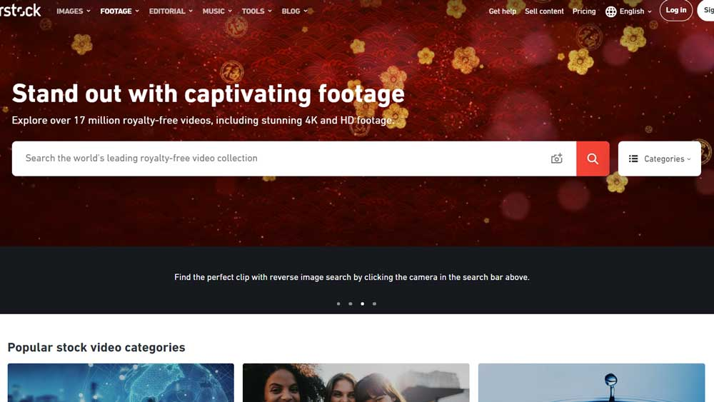 Shutterstock Get Paid And Free Images And Stock Video Free For Video