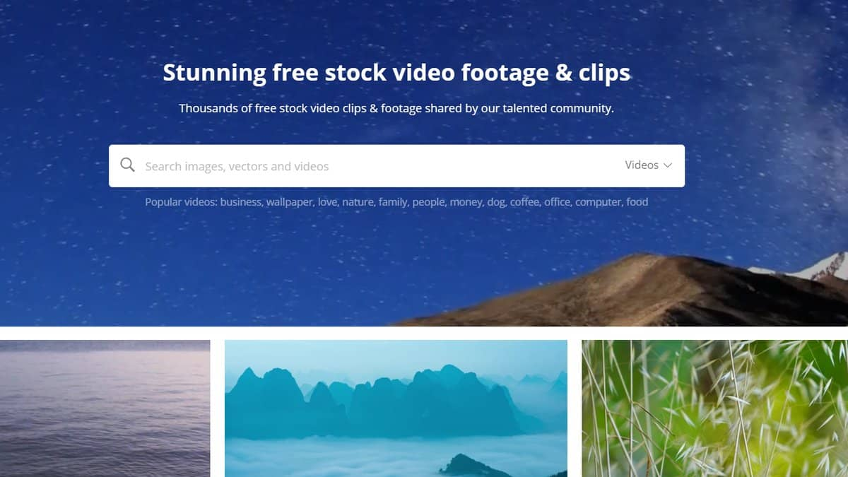 Pixabay - Free Stock Footage Site