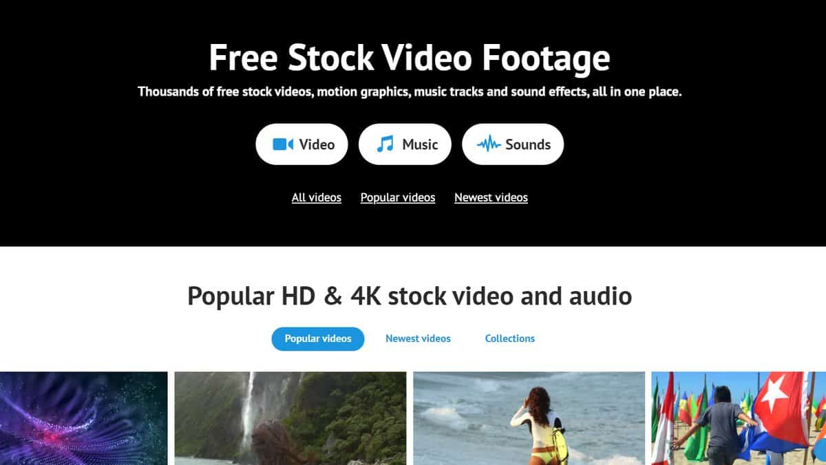 Videvo - Free Stock Footage Site